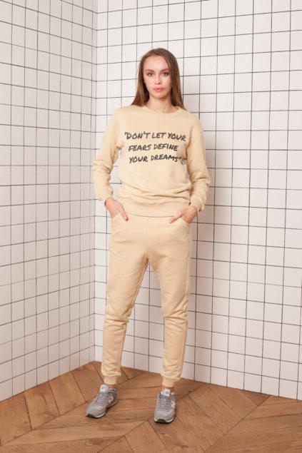 print beige fear